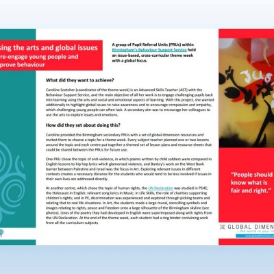 Image of 'Using the arts and global issues' case study