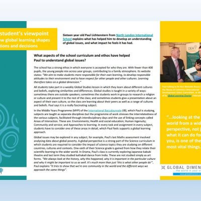 Image of 'A Student's Viewpoint' case study