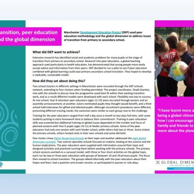 Image of 'transition' case study