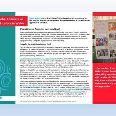 Image for 'Global Learners Wales' case study