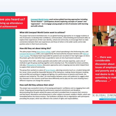 Image for 'Have you heard us?' case study