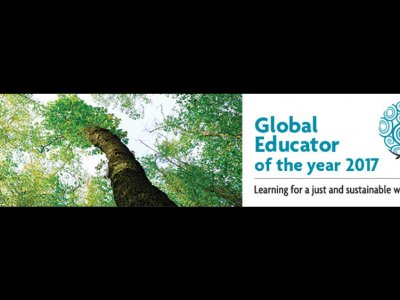 Global Educator of the Year Award 2017 Banner