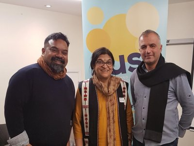 Atif Choudhury, Veena Nabar and Taysir Arbasi
