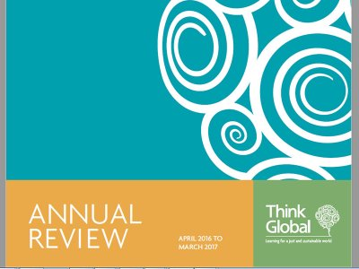 Think Global Annual Review cover