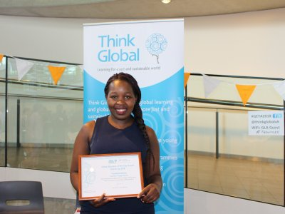 Thandiwe Banda GEYA 2018 finalist